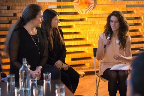 Tana Le Moigne a Tamar Newberger v panelové diskuzi s Czechitas 2016