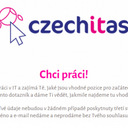 Chceš pomoct s hledáním práce? - Czechitas