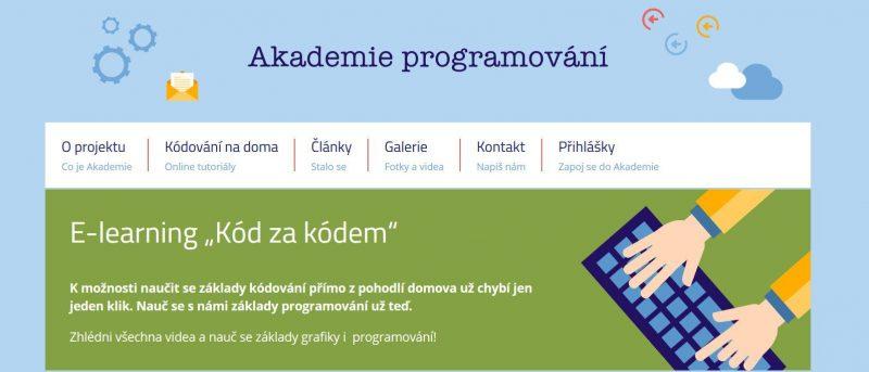 Akademie Programovi Pro Deti Czechitas